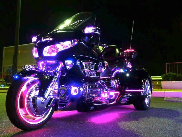 Advantages of Motorcycle Led Lights