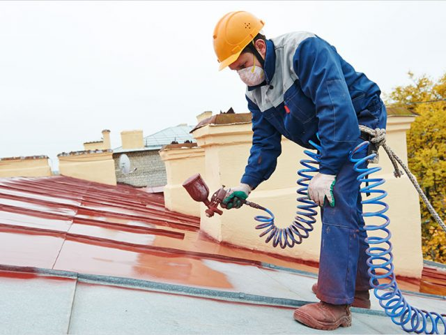 Should You do Roof Painting Yourself or Hire a Professional